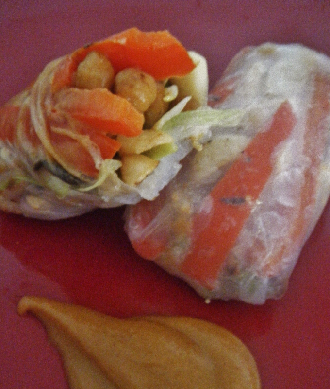 Chinese Chicken Spring Rolls — Me My Health and I